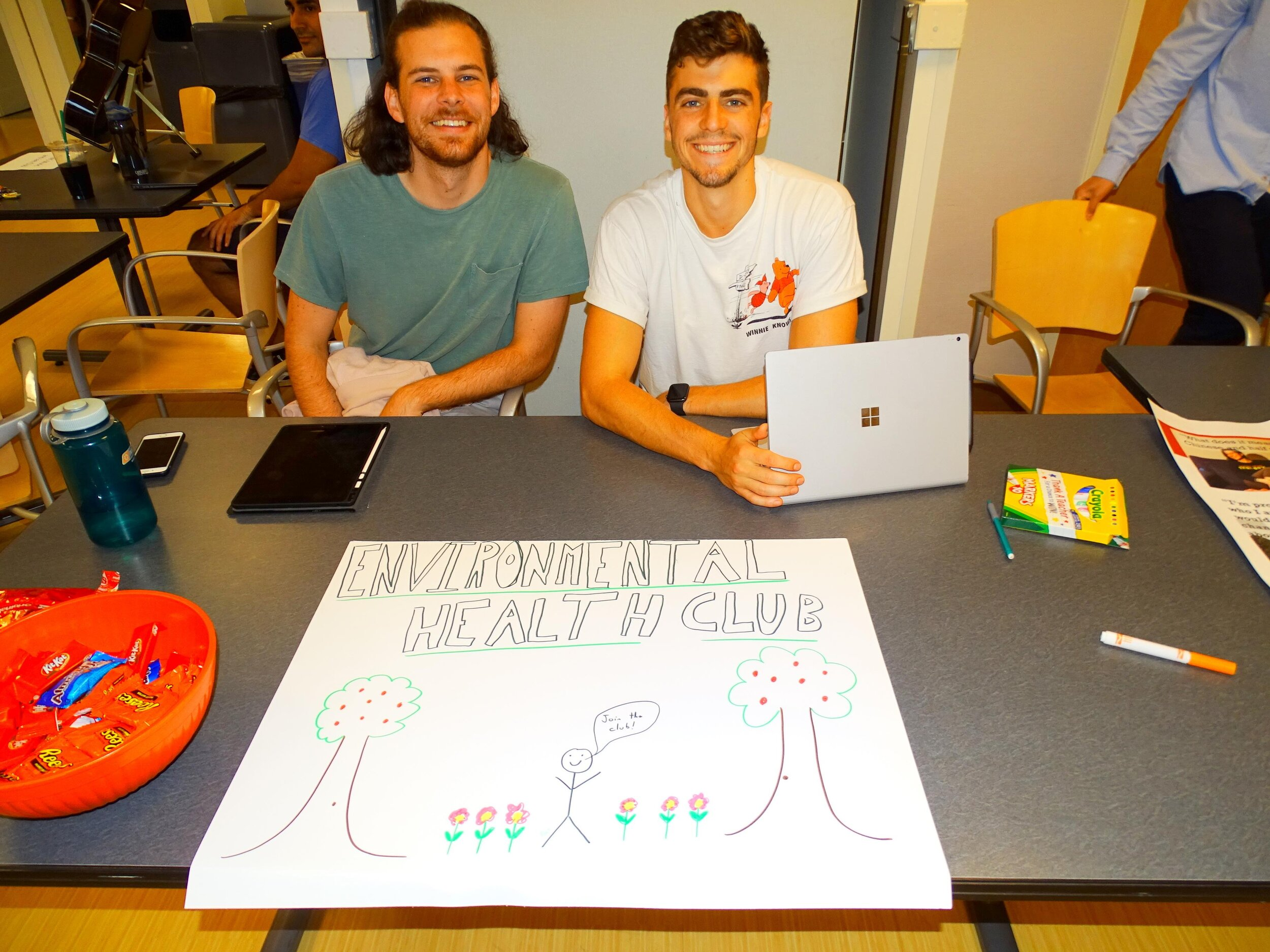 September 2019 - NYMC second year medical students, Conor Murphy and Samuel DeSantis, established the first Environmental Health Student Club on campus. The faculty of CEHCHV will provide ongoing mentorship and oversight of the club to help the students maximize their academic and service potential in Environmental Health in our community.