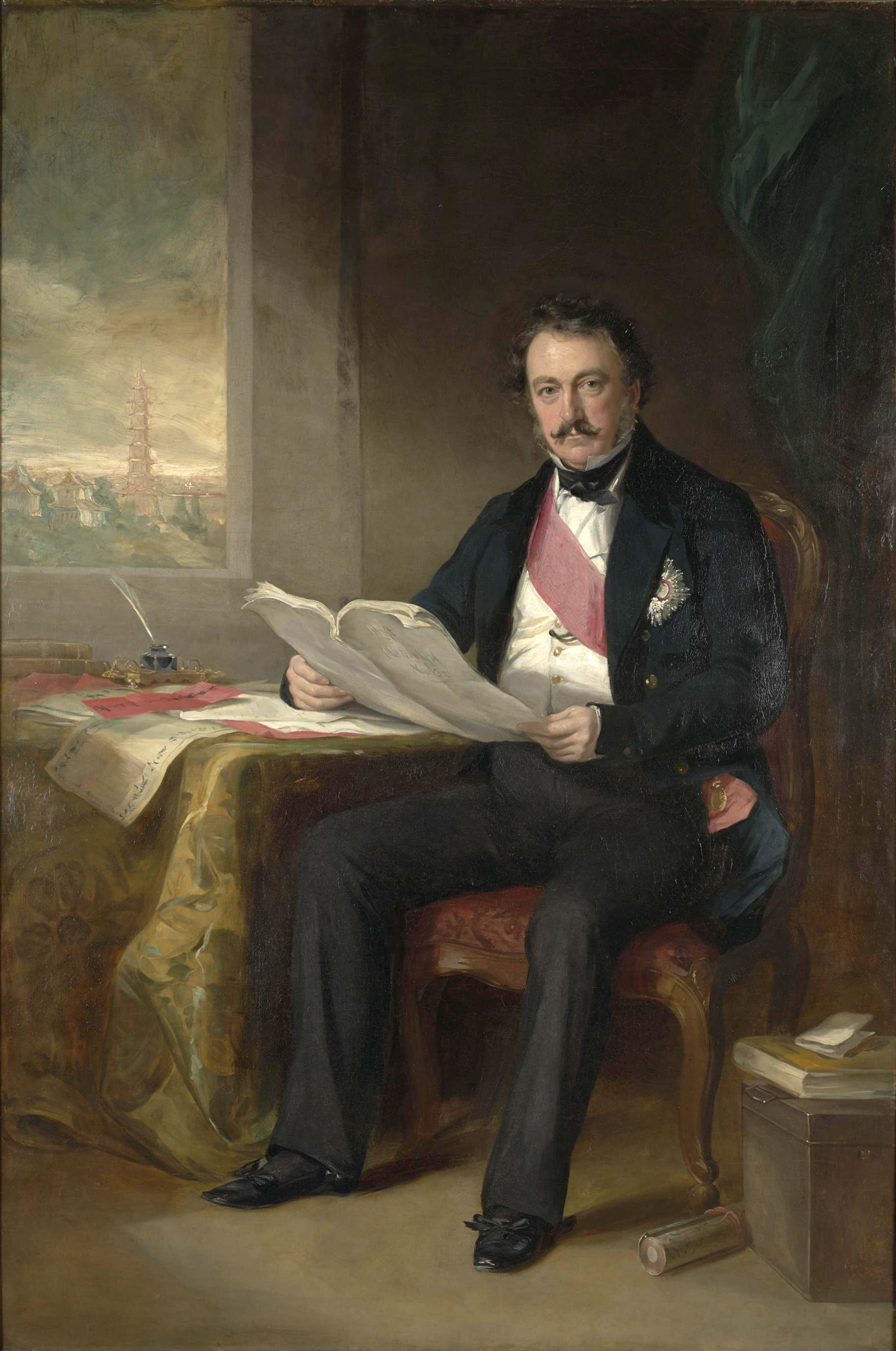 Sir Henry Pottinger    Supreme Commander of British invading force