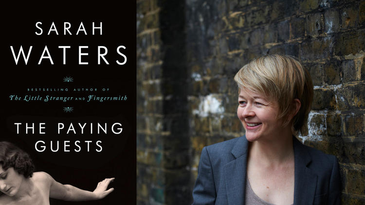 """""""The Paying Guests,"""" by Sarah Waters, is among the finalists for the Kirkus Prize for fiction. (Charlie Hopkinson / Riverhead)"""