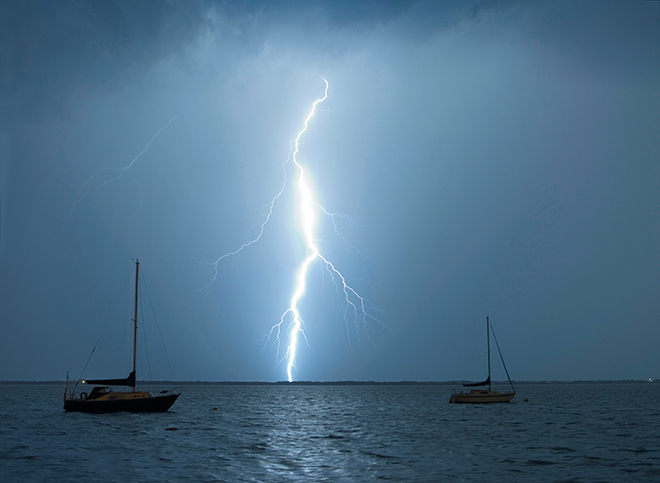 """""""He sends lightning with rain and brings out the wind from his storehouses""""-Jeremiah 10:13 -"""