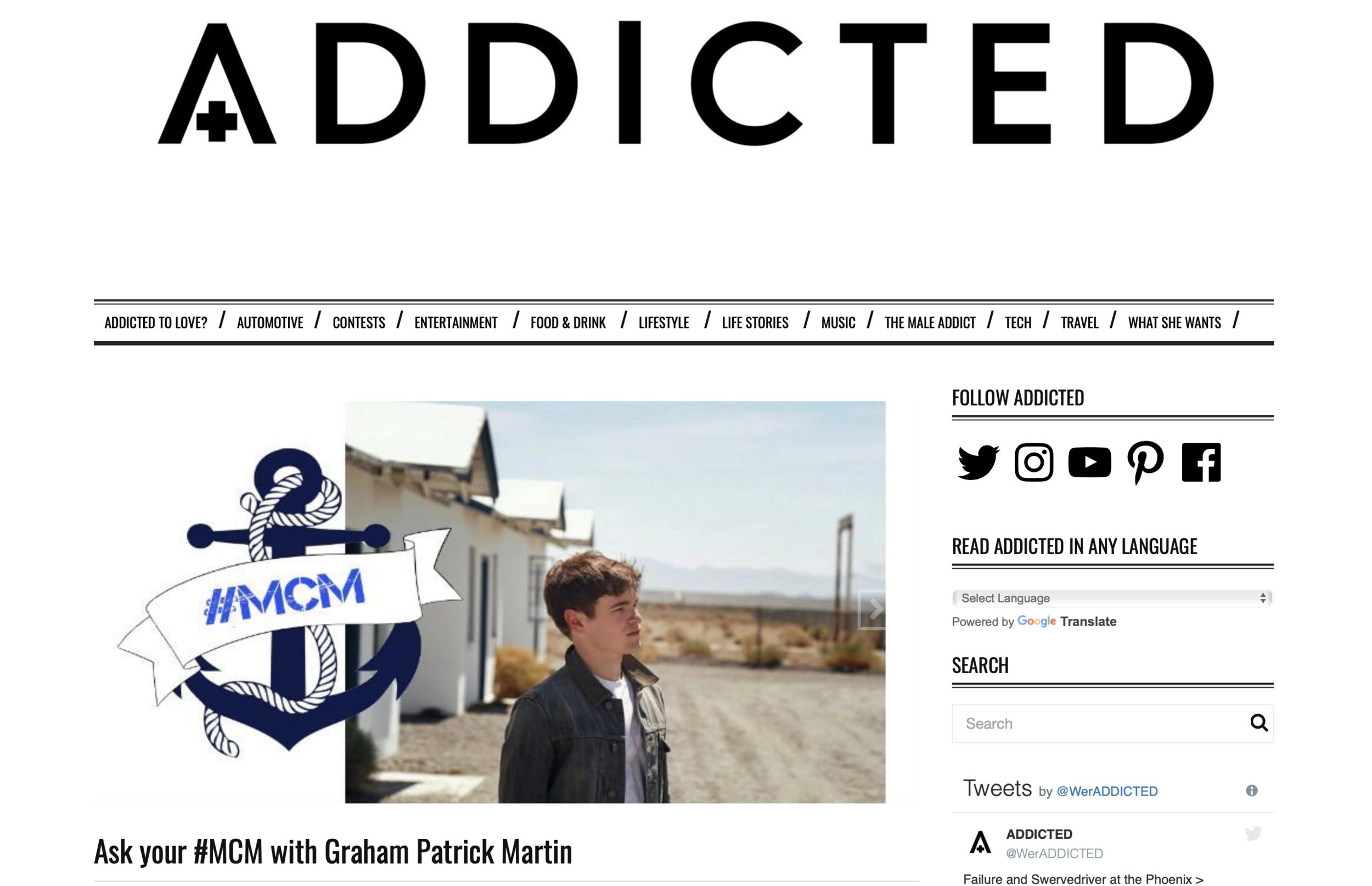 Addicted Feature
