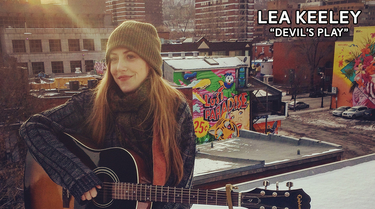 "LEA KEELEY - ""DEVIL'S PLAY""PLATEAU MONT-ROYAL. MONTREAL, 2016."