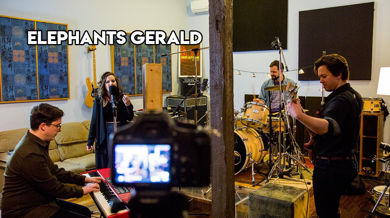 "ELEPHANTS GERALD - ""ACHILLES FEEL""SERATONE STUDIO. MONTREAL, 2018."