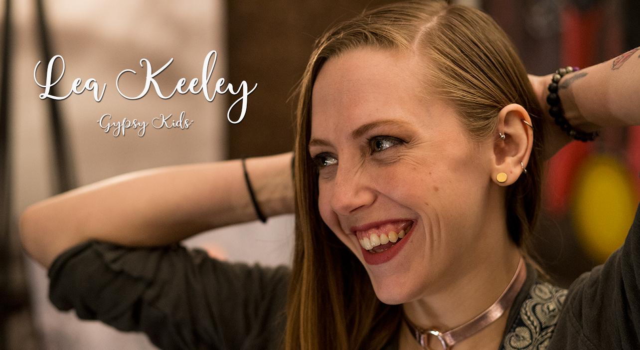 "LEA KEELEY - ""GYPSY KIDS""SERATONE STUDIO. MONTREAL, 2019."