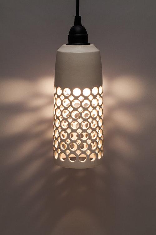 Cylindrical Pendant Lamp