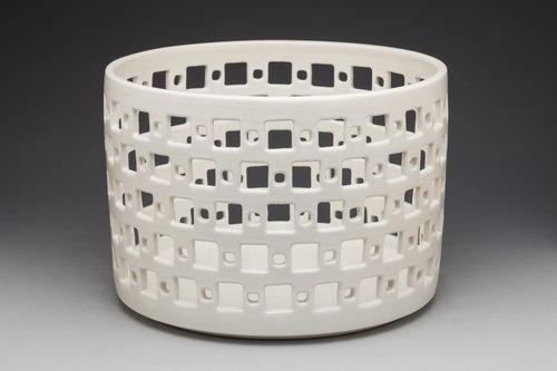 Midcentury modern Cylindrical Orb