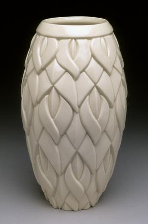 Sins Vase, Clear Glaze