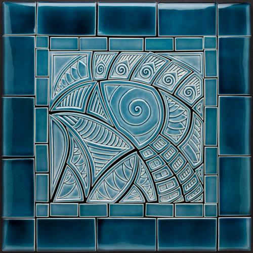 Blue Bird Custom Tile Mural