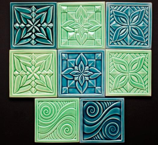 "Individual Tiles, 6"" x 6"" $42 each"