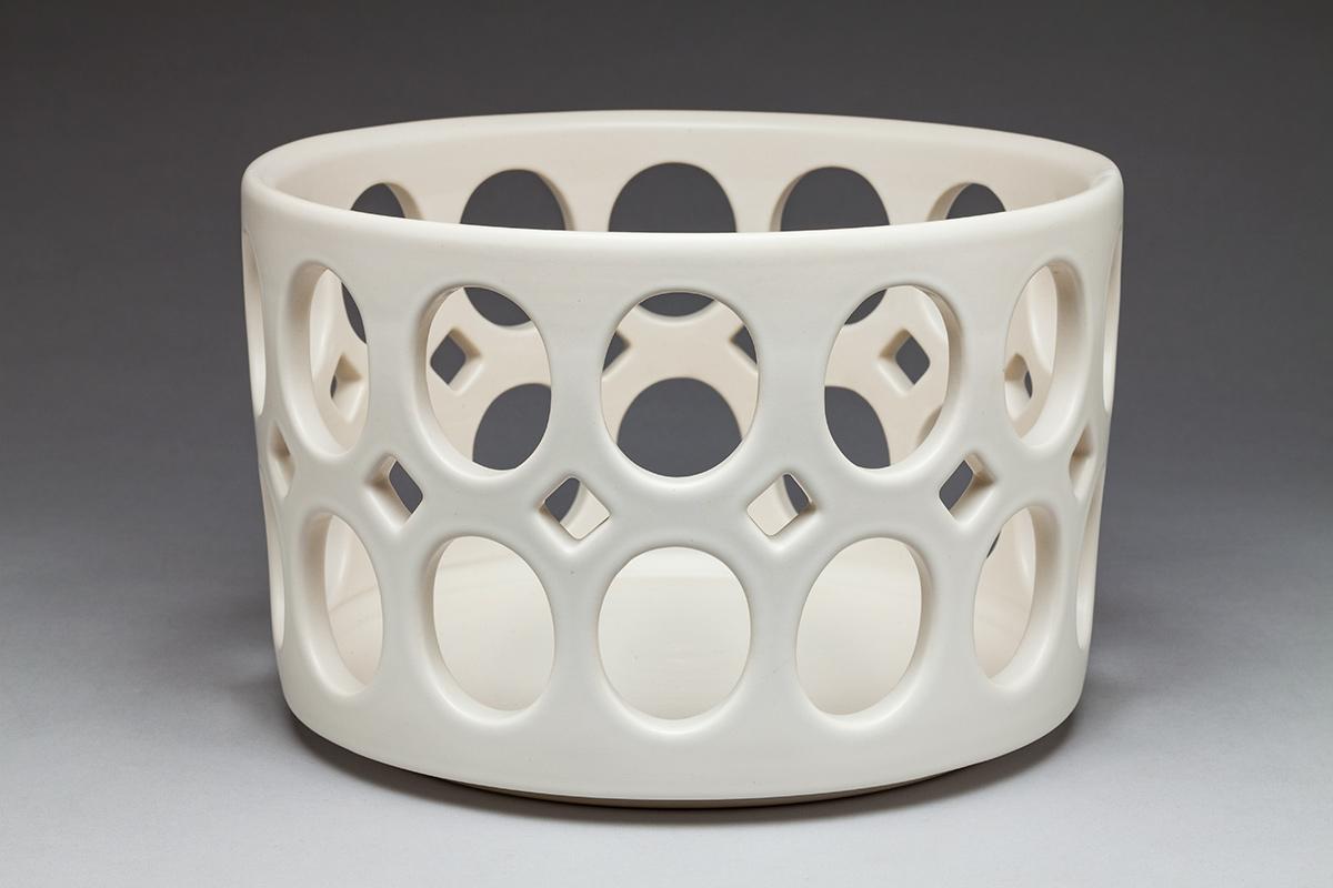 Cylindrical Fruit Bowl
