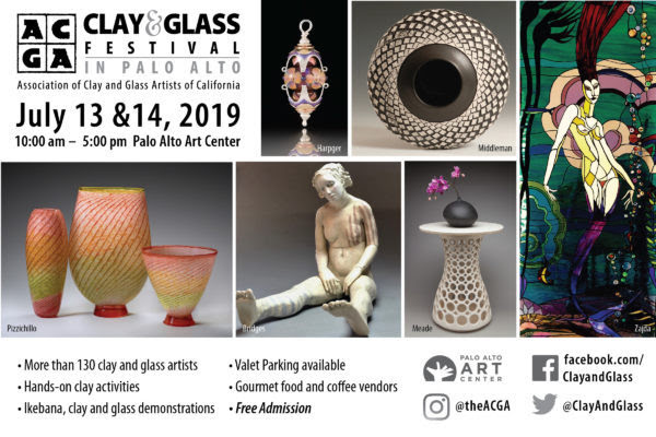 ACGA Clay & Glass Festival in Palo Alto