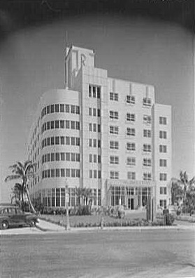 Lynne Meade graces the Penthouse Suite of the iconic Art Deco Raleigh Hotel - Miami Beach (South Beach), FL