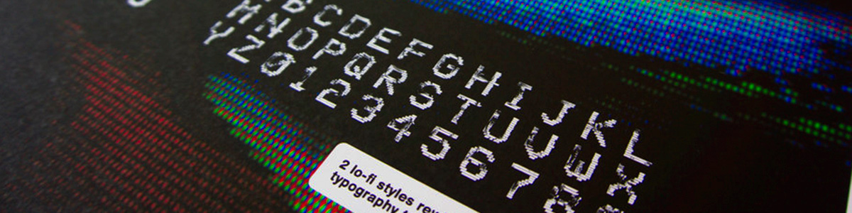 VHS Typeface - Graphic Design / Typography