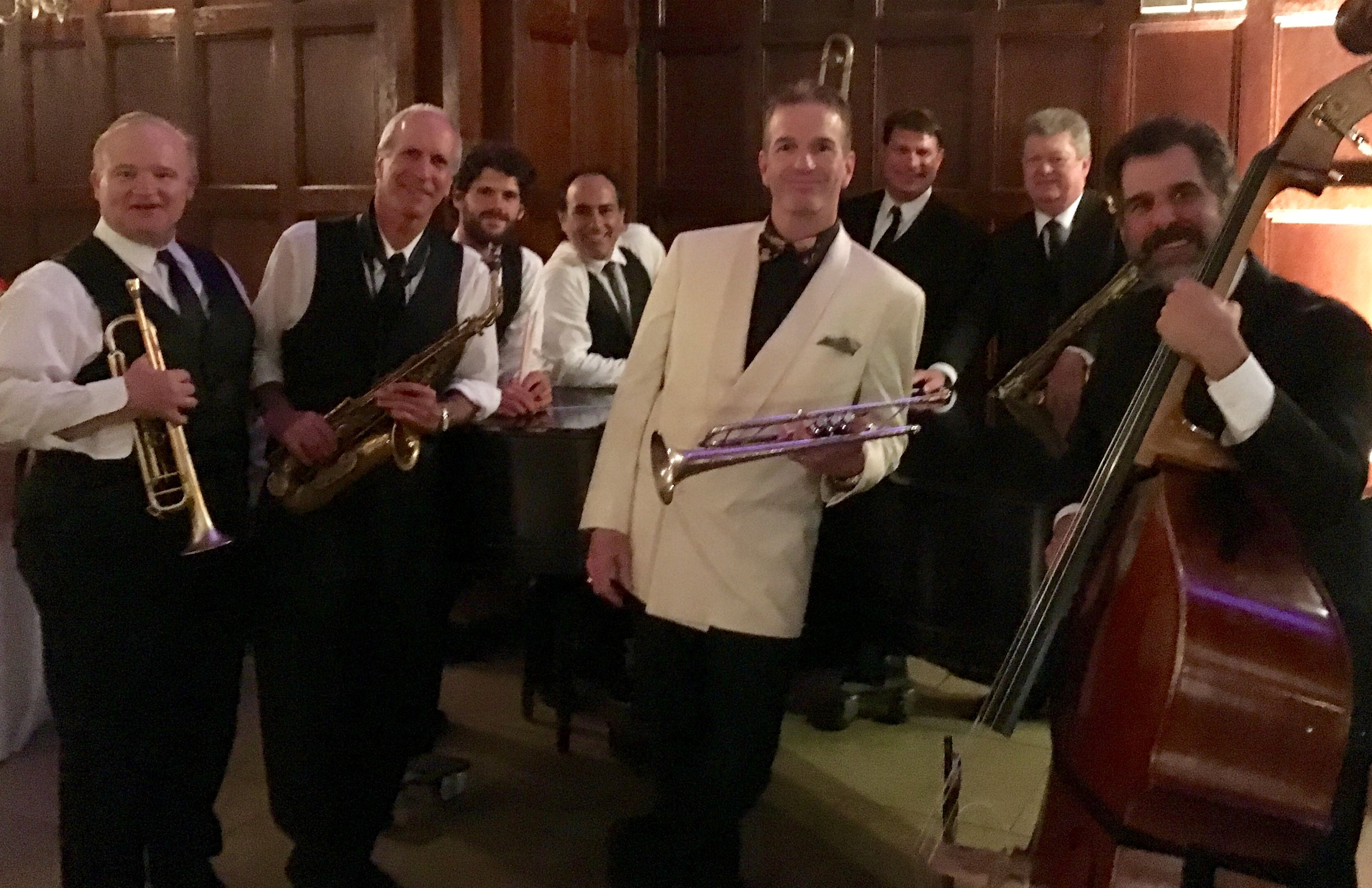 Mark Greel & Swing-Time performing big band swing all around Boston