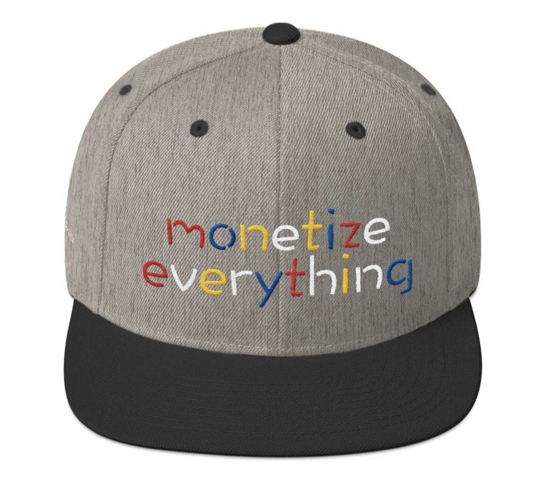 Life Rocketed Monetize Everything Hat