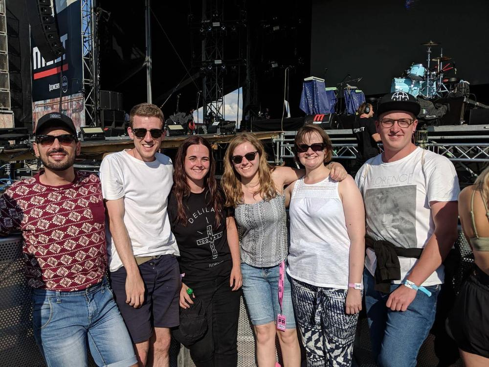 MELT Festival 2018 - Florence + the Machine fans waiting for the band