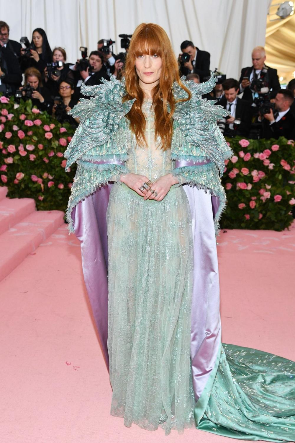 Florence Welch at the MET Gala 2019