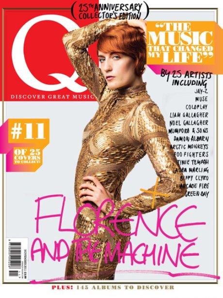 Q Magazine 2010 Florence Welch