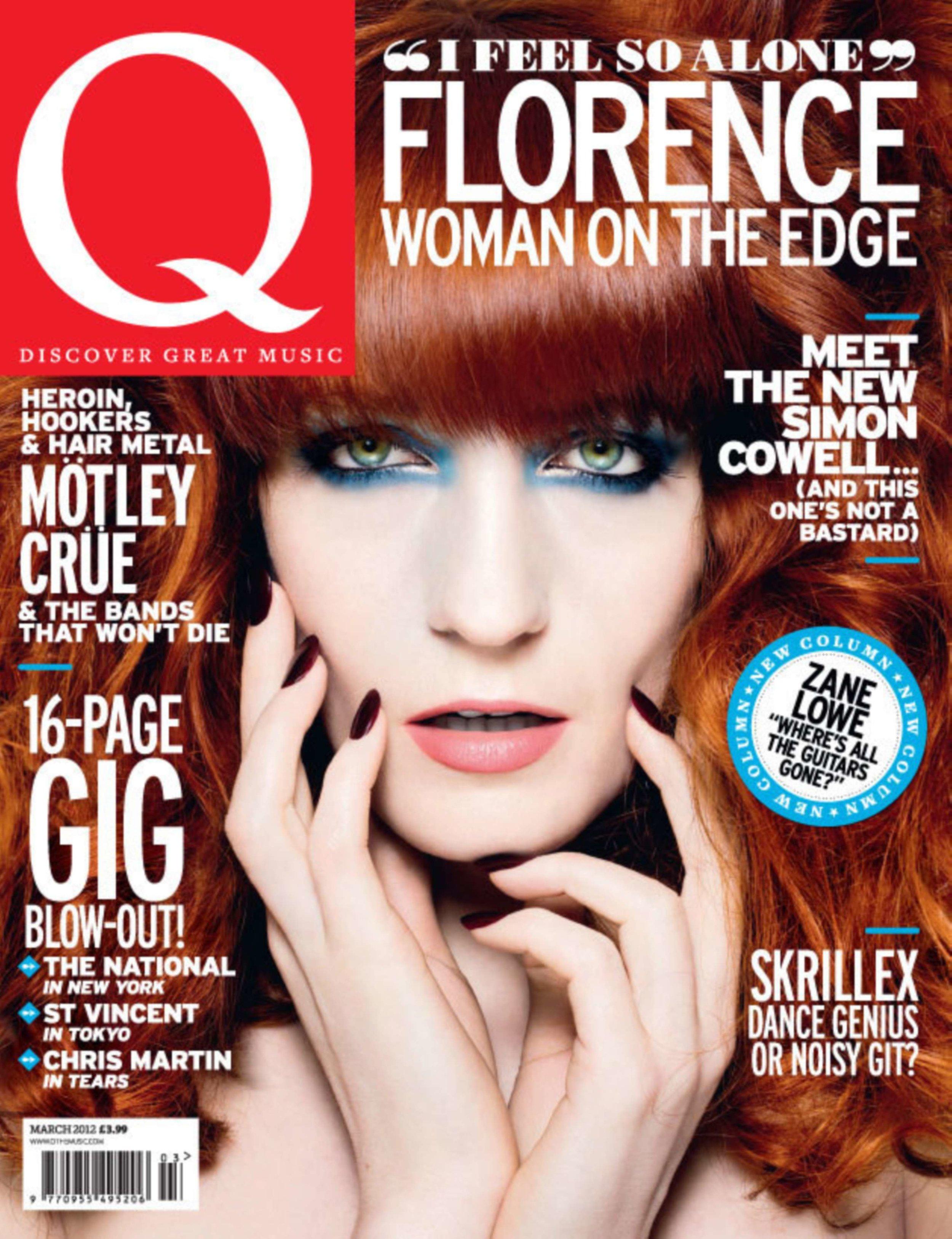 Q Magazine 2012 Florence Welch