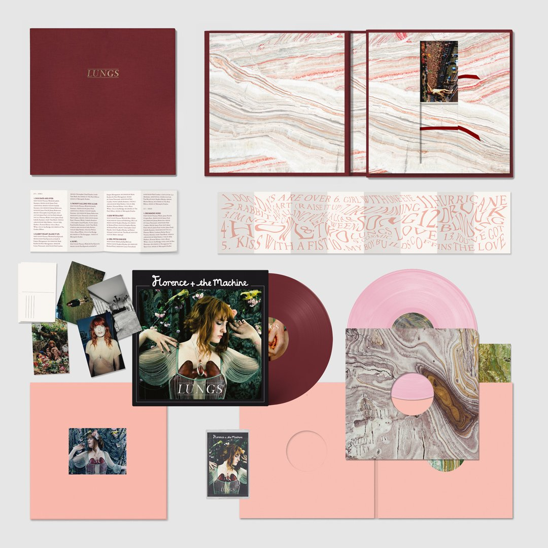 Lungs anniversary edition box-set LP