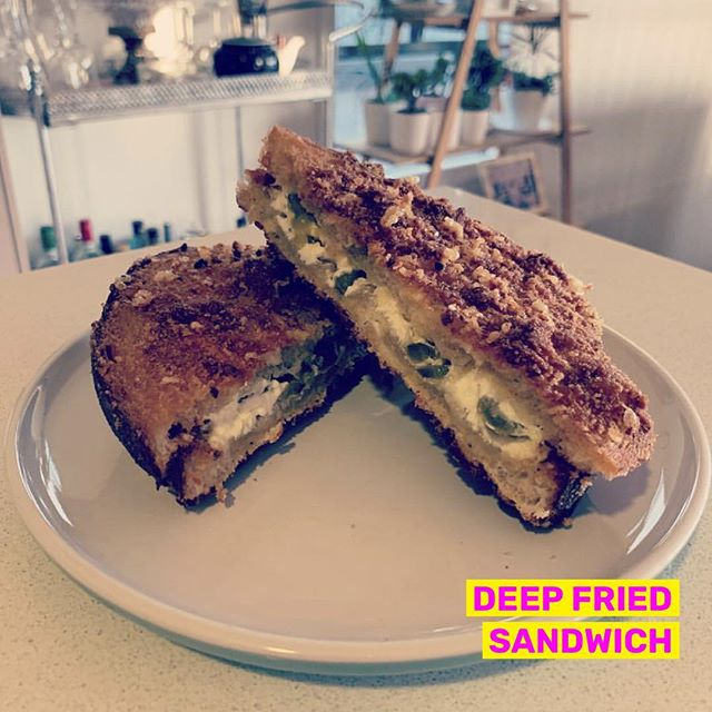 Cream cheese, jalapeno & batter is all you need . . . . 📷 by @chef.gregg #tastyorgross #tasty #gross #friedsandwich #deepfried #fastfoodporn #foodporn #foodie #foodiesofinstagram #forkyeah #eaaaats #thisiswhyimfat #recipe #repost #instafood