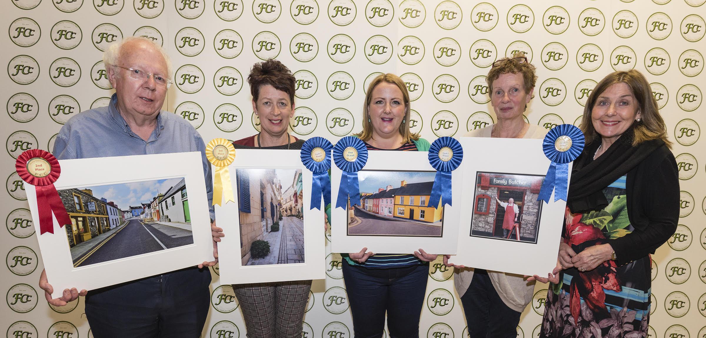 Michael Walsh, deirdre Casolani, Eimear Quigley, Norna Brennan and Breeda Morgan representing the Fermoy Camera Club (Battie Arnold).jpg