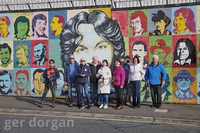 FCC headed North to explore the Belfast city sites and exceptionally beautiful coastine and Glens of Antrim last weekend.  We would like to thank our tour guide Rory O Kane who traveled with us for 2 days. A huge thanks to Battie and Helen Arnold who organized this trip and who drove us around in style. #funwithphotography #belfast #causewaycoastalroute #antrim