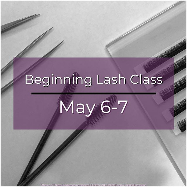 Only a few spots left in our May Beginning Lash Class! Check out the link in our bio.  Already Lashing? We've got a special Volume Class on April 17th! Give us a call!  #lashtraining #lashes #powderbrows #lashesandbrows #lashextensions #chicagobeauty #volumelashextensions #cosmetologist #esthetician #careermove #education #occhiinstitute #classiclashing #eyelashextensiontraining #newservice #continuingeducation