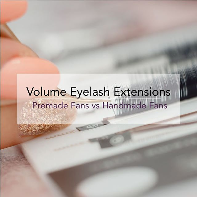 Volume Eyelash Extensions | Premade vs Handmade Fans  Since the popularity of premade fans has risen, we are finding that the dangers outweigh the benefits. Read our thoughts on the newest trend in the lash industry at the link in our bio.  #eyelashes #eyelashextensions #lashes #lashextensions #volumelashes #volumelashextensions #individuallashes #volume #lashfans #lashesfordays #lashesonpoint #lashgoals #lashartist #eyelashextensionchicago #chicago #oakbrook #villapark #clarendonhills #hinsdale #buyerbeware #premadefans #premadelashfans #premadevolumefans