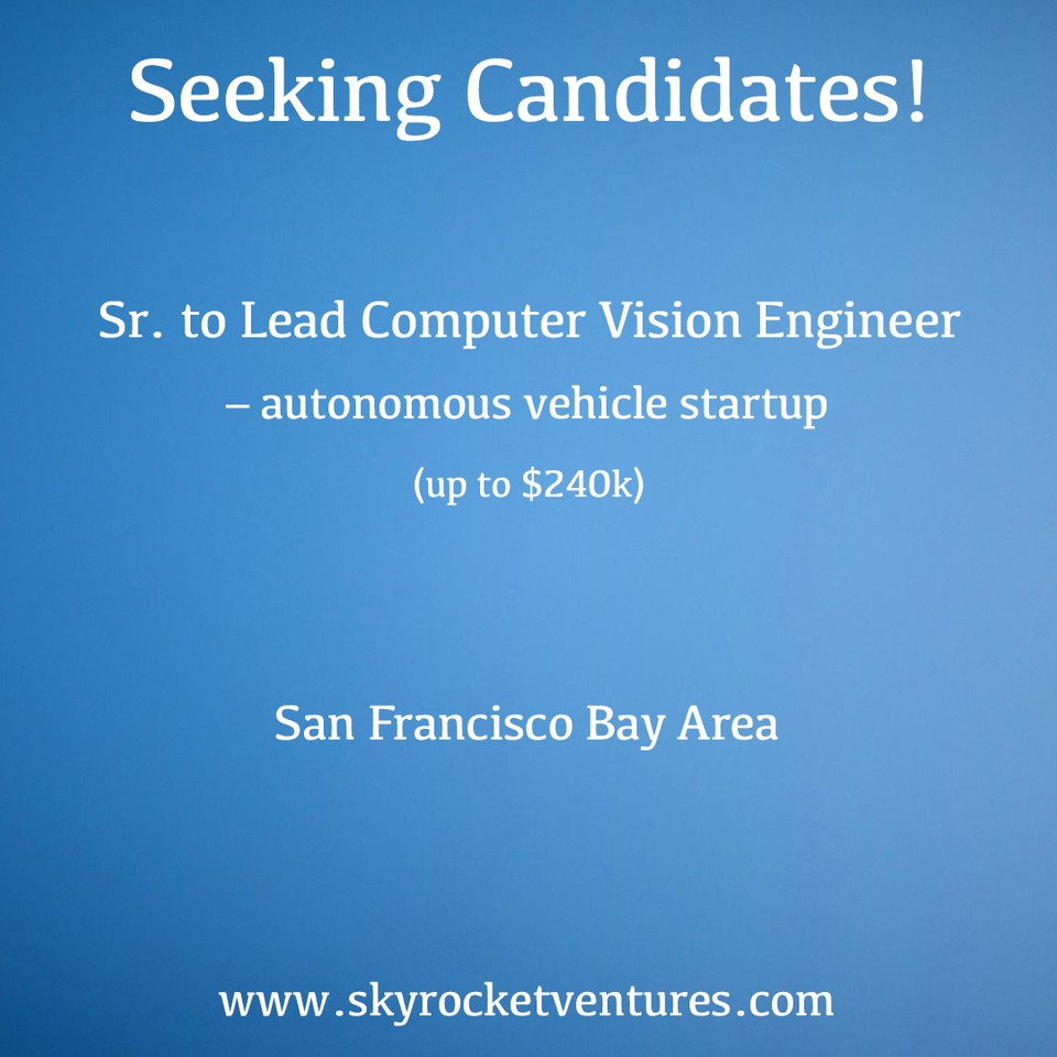 We post a small portion of our open positions online. You can view and apply to some of our jobs on the Skyrocket Ventures LinkedIn page:     https://www.linkedin.com/company/skyrocket-ventures/jobs     Better yet, to be considered for all of our jobs and have a personalized experience, contact us to discuss your preferences and we'd love to speak with you!  www.skyrocketventures.com   We encourage you to check out Skyrocket Ventures on Social Media:   Facebook       Instagram       LinkedIn       Medium       Tumblr      To get a sense of what types of companies Skyrocket Ventures works with and what types of jobs we help them recruit for, we encourage you to check our job posting sites:   Monster       Dice       LinkedIn