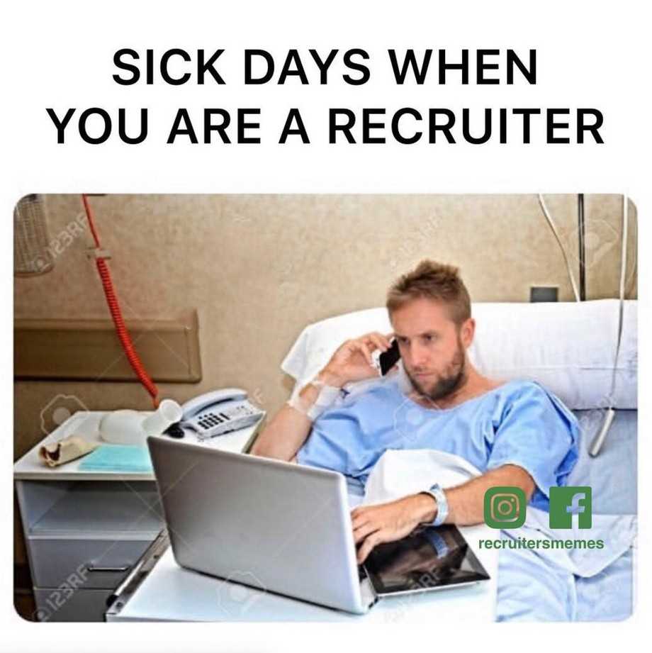 What's a sick day?  We encourage you to check out Skyrocket Ventures on Social Media:   Facebook       Instagram       LinkedIn       Medium       Tumblr      To get a sense of what types of companies Skyrocket Ventures works with and what types of jobs we help them recruit for, we encourage you to check our job posting sites:   Monster       Dice       LinkedIn   '     www.skyrocketventures.com