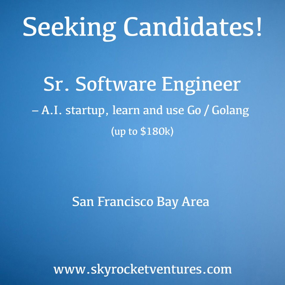 We post a small portion of our open positions online. You can view and apply to some of our jobs on the Skyrocket Ventures LinkedIn page:⁣  https://www.linkedin.com/company/skyrocket-ventures/jobs/⁣ ⁣   Better yet, to be considered for all of our jobs and have a personalized experience, contact us to discuss your preferences and we'd love to speak with you!  www.skyrocketventures.com
