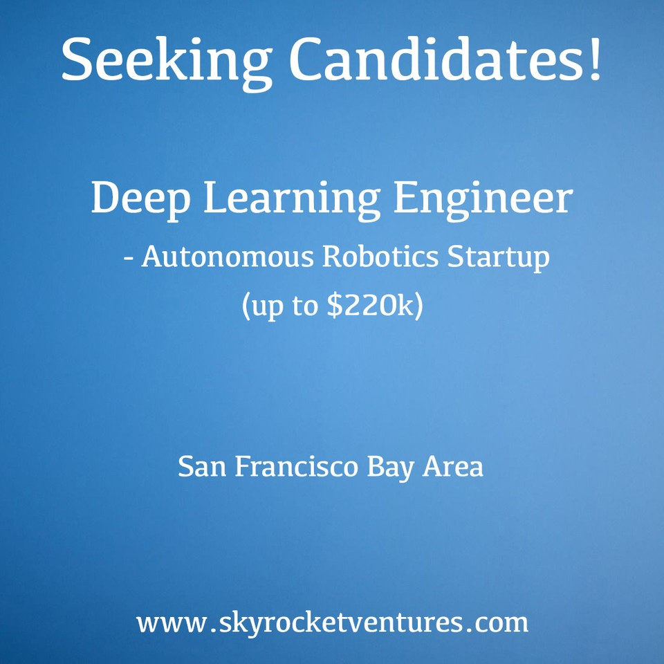 We post a small portion of our open positions online. You can view and apply to some of our jobs on the Skyrocket Ventures LinkedIn page:  ⁣⁣https://www.linkedin.com/company/skyrocket-ventures/jobs/  ⁣⁣Better yet, to be considered for all of our jobs and have a personalized experience, contact us to discuss your preferences and we'd love to speak with you!  www.skyrocketventures.com   We encourage you to check out Skyrocket Ventures on Social Media:    Facebook       Instagram       LinkedIn       Medium       Tumblr    To get a sense of what types of companies Skyrocket Ventures works with and what types of jobs we help them recruit for, we encourage you to check our job posting sites:    Monster       Dice       LinkedIn