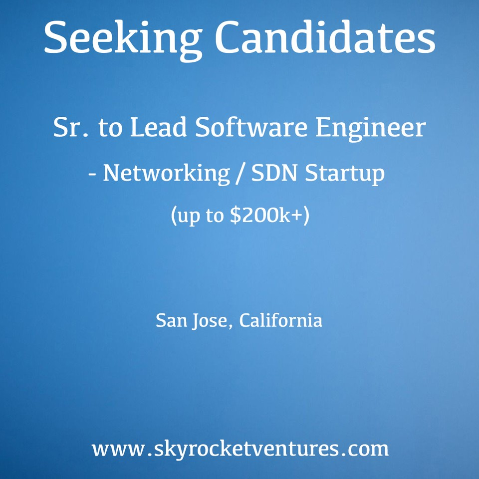 We post a small portion of our open positions online. You can view and apply to some of our jobs on the Skyrocket Ventures LinkedIn page:⁣ ⁣   https://www.linkedin.com/company/skyrocket-ventures/jobs/⁣ ⁣   Better yet, to be considered for all of our jobs and have a personalized experience, contact us to discuss your preferences and we'd love to speak with you!  www.skyrocketventures.com   We encourage you to check out Skyrocket Ventures on Social Media:    Facebook       Instagram       LinkedIn       Medium       Tumblr    To get a sense of what types of companies Skyrocket Ventures works with and what types of jobs we help them recruit for, we encourage you to check our job posting sites:    Monster       Dice       LinkedIn