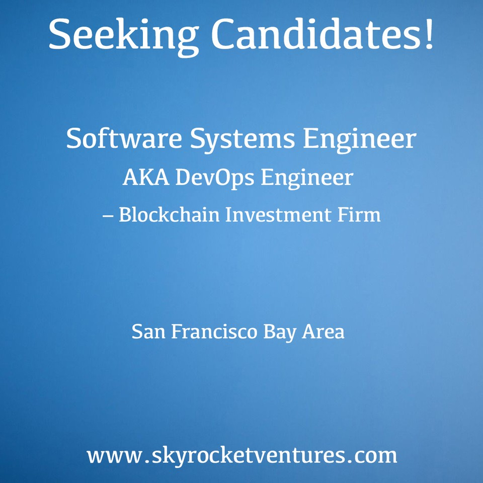 We post a small portion of our open positions online. You can view and apply to some of our jobs on the Skyrocket Ventures LinkedIn page:  https://www.linkedin.com/company/skyrocket-ventures/jobs/  Better yet, to be considered for all of our jobs and have a personalized experience, contact us to discuss your preferences and we'd love to speak with you!  www.skyrocktventures.com   We encourage you to check out Skyrocket Ventures on Social Media:    Facebook       Instagram       LinkedIn       Medium       Tumblr    To get a sense of what types of companies Skyrocket Ventures works with and what types of jobs we help them recruit for, we encourage you to check our job posting sites:    Monster       Dice       LinkedIn