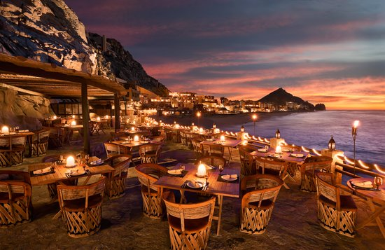 El Farallon   | Camino del Mar 1, Pedregal Tel: +52 624.163.4300  This picture-perfect restaurant, carved into a series of cliffs at The Resort at Pedregal, offers fresh local fish and five-star views. What more could you ask for?