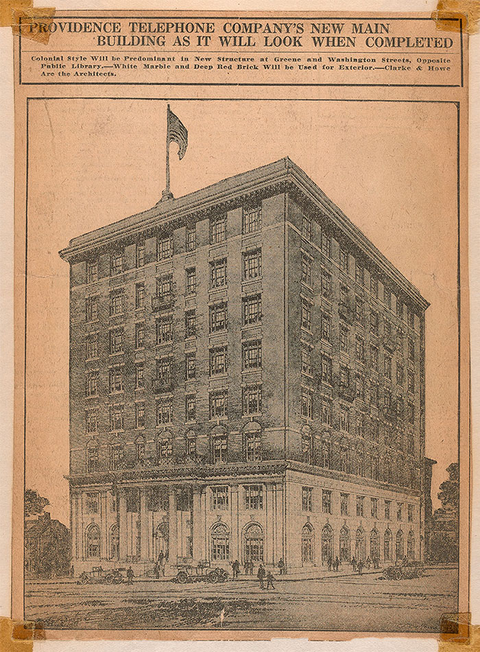 History — The Telephone Building