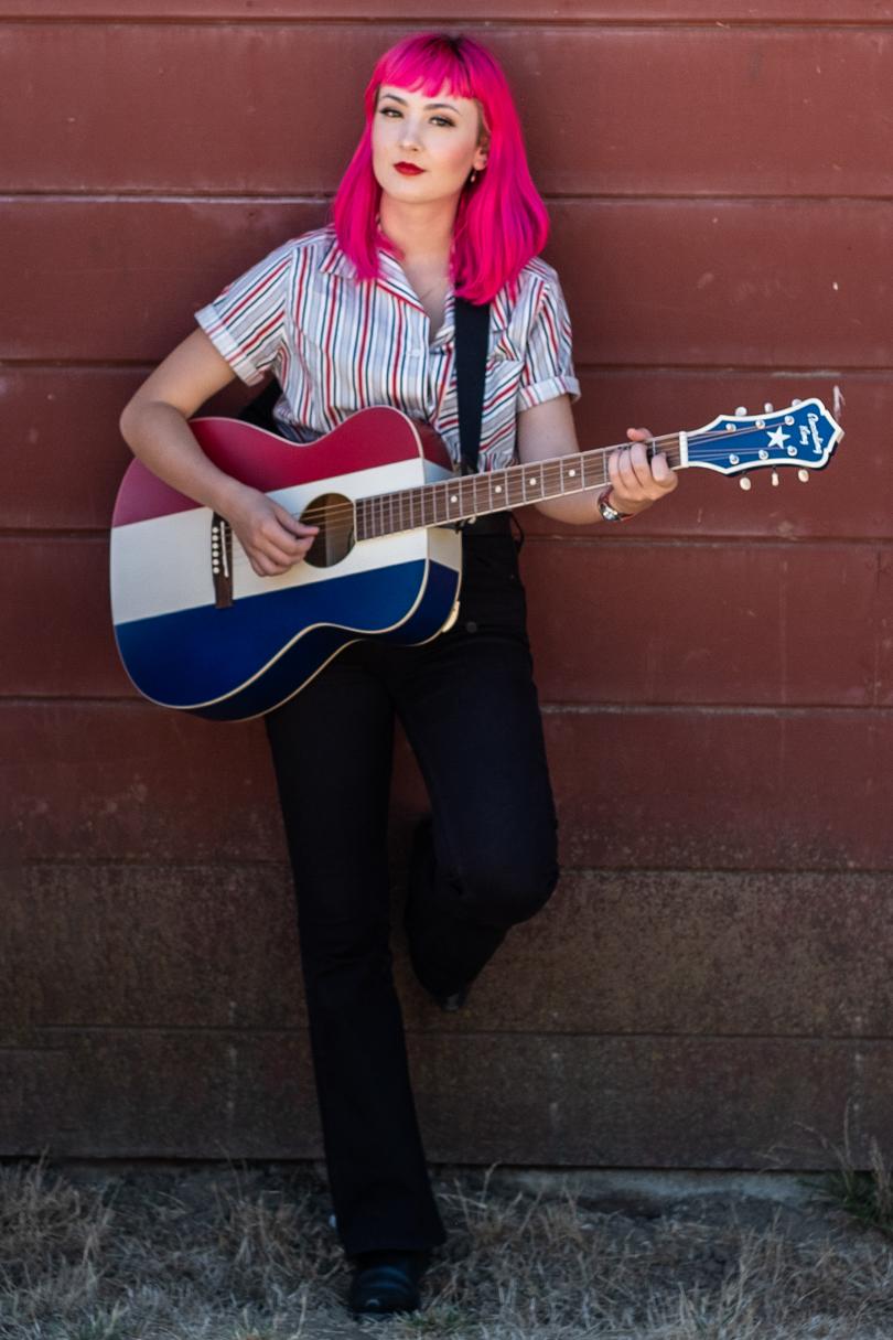 Lucy Giles plays the ROA-9-RWB