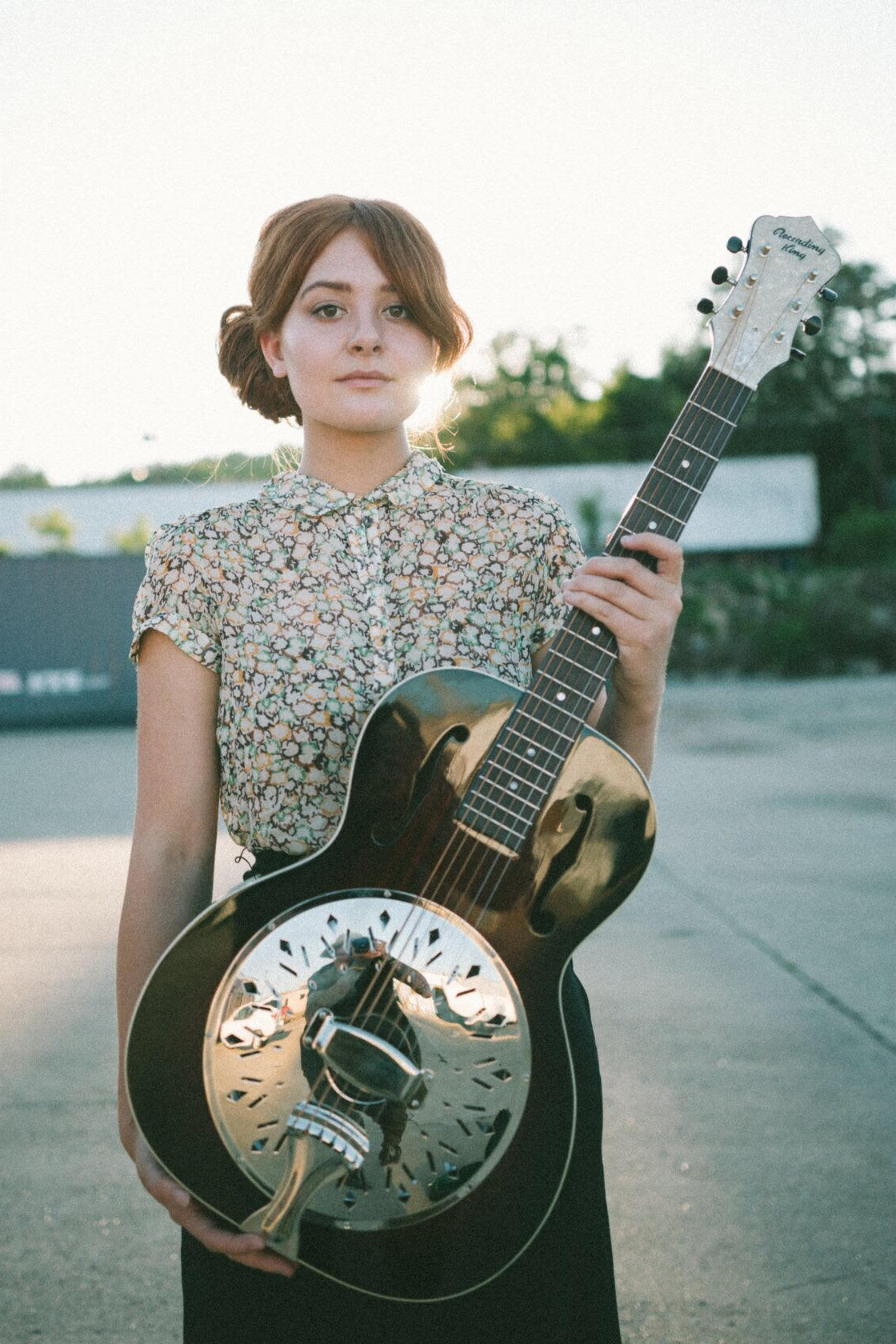 Libby DeCamp plays the Rattlesnake