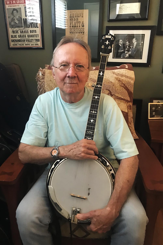 Herb Pedersen plays the RK-R35