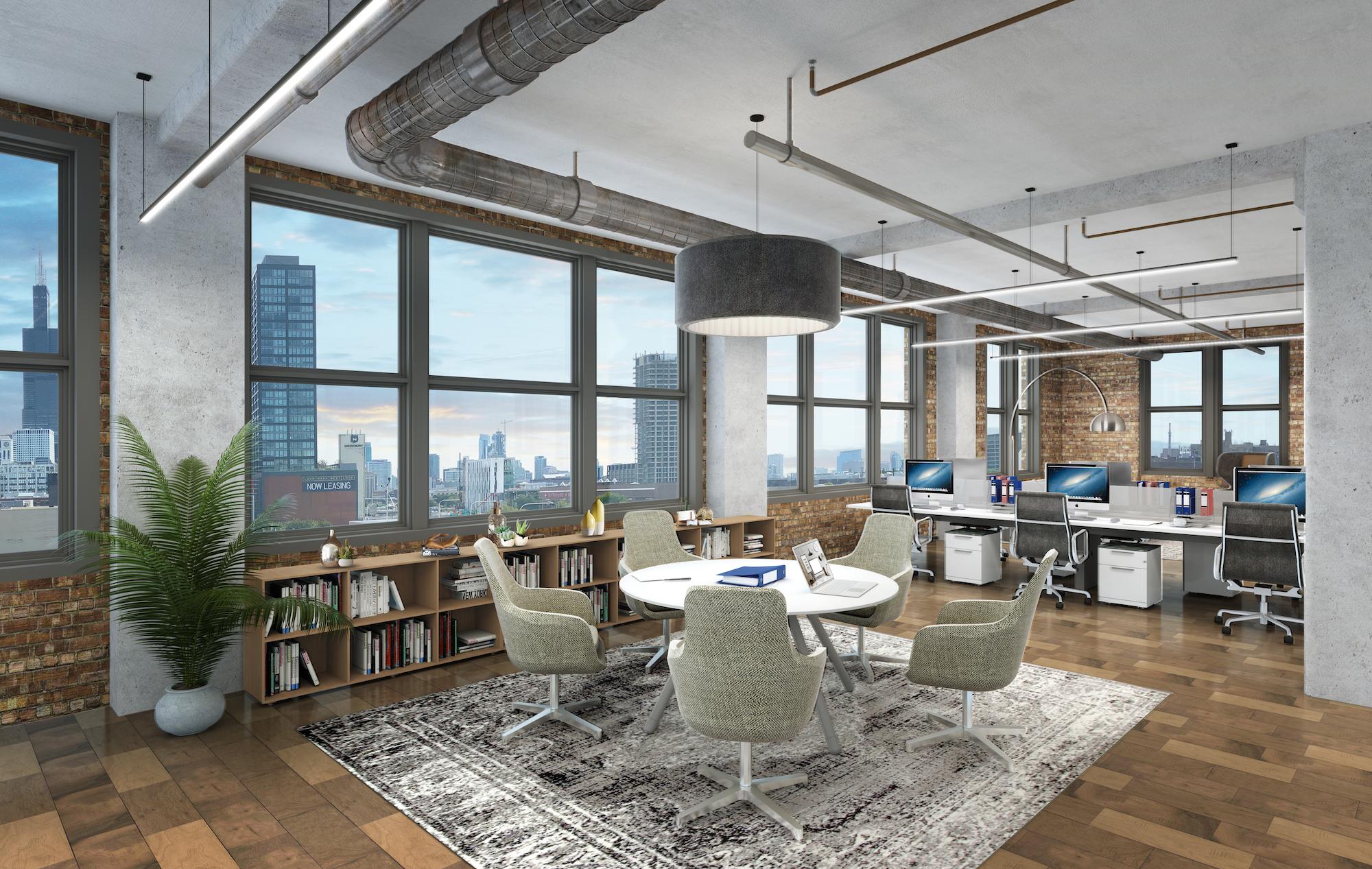 7th Floor Tenant Office Mock-up
