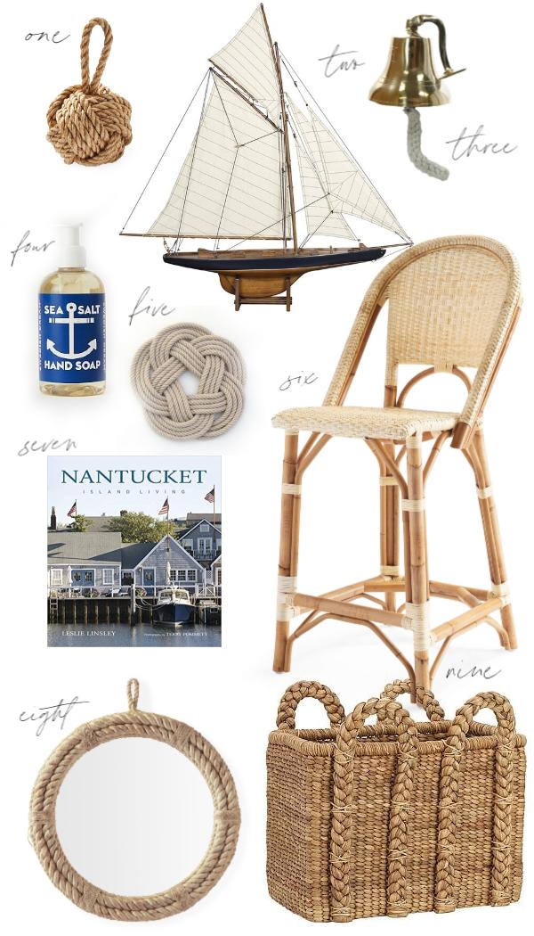 Nautical New England Home Decor Shops Kristy New England