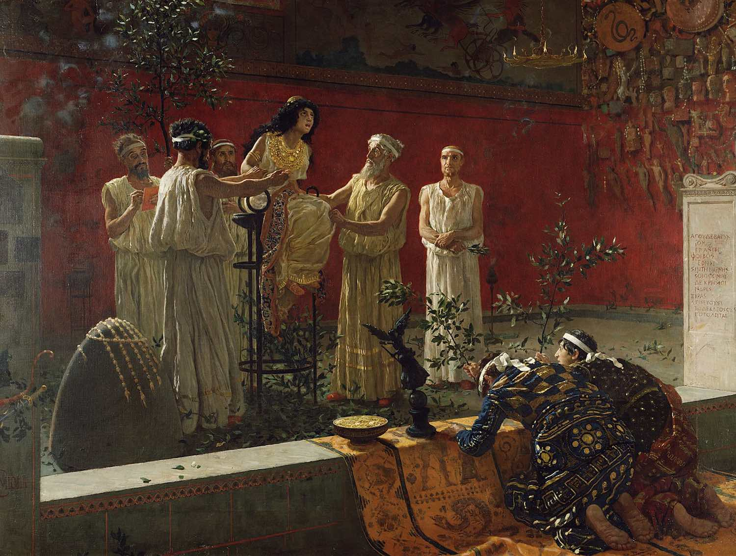 """""""The Oracle"""" by Camillo Miola (Biacca)"""