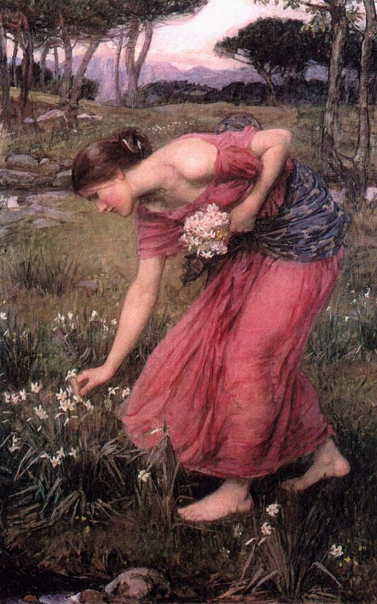 """Narcissus"" by John William Waterhouse"