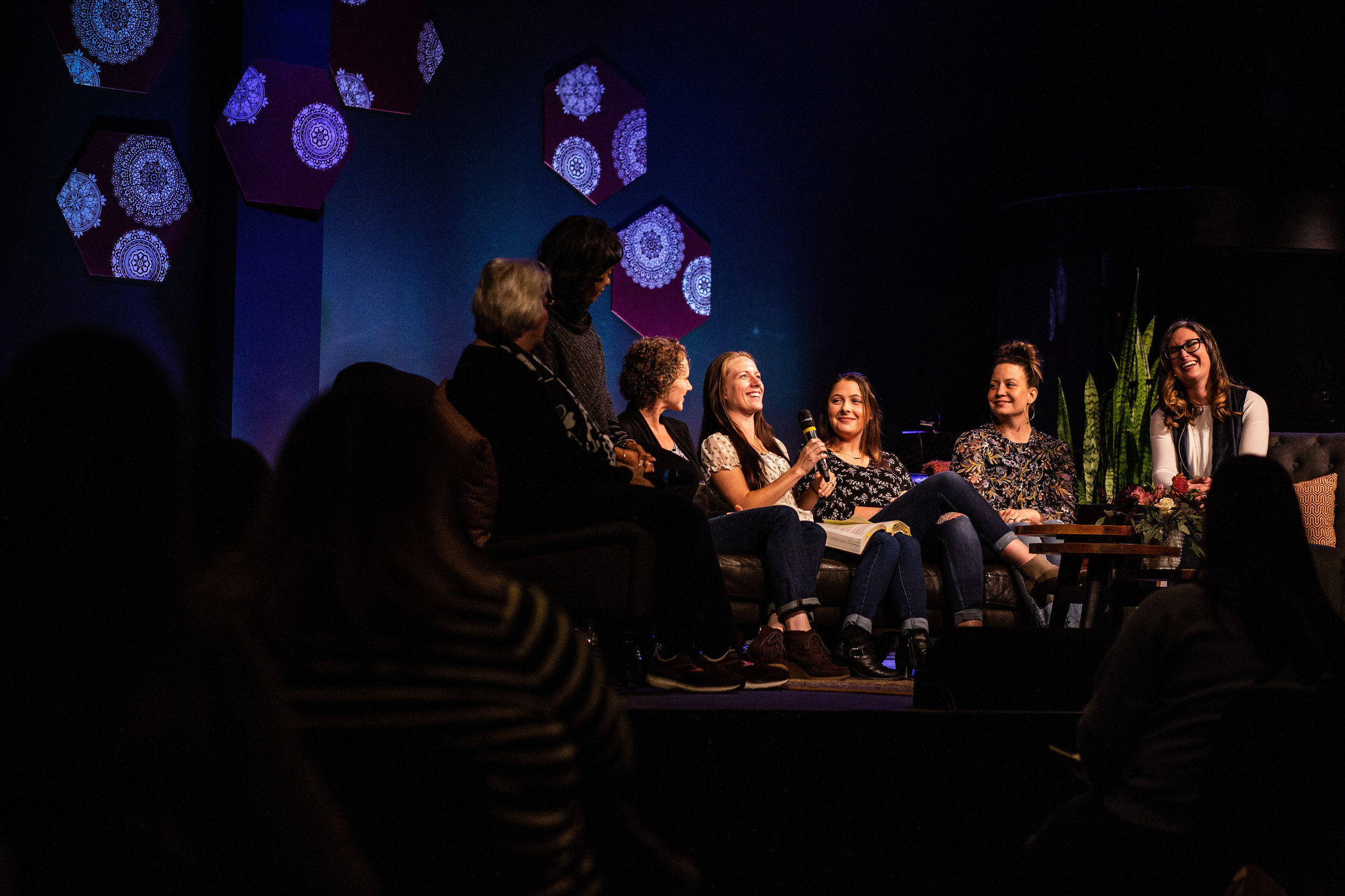 Connection With Other Women - Connection with other women and with God is a focus of Breakaway Conference. There are environments designed for great conversation, prayerful processing and just good fun with friends throughout the two days.