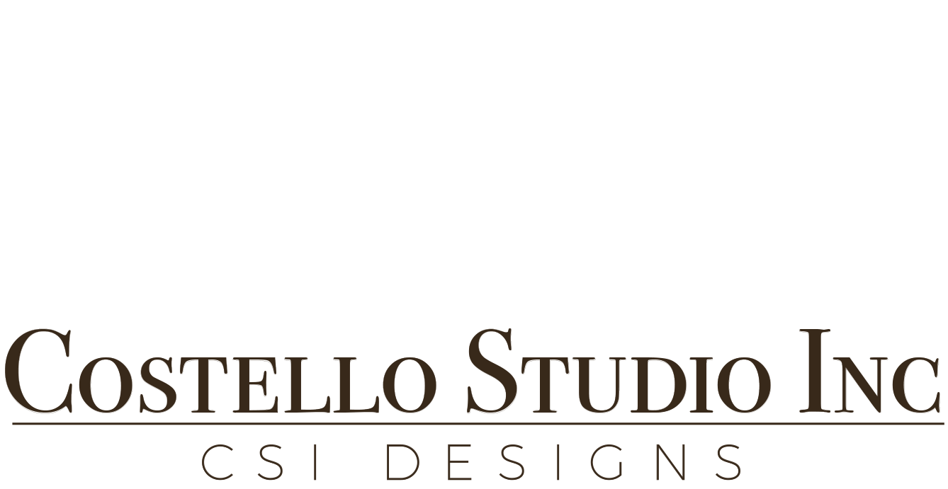 CSI Costello Studio - Costello Studio, Inc. has 32 years of experience producing custom leather projects and installations for Architects, Interior Designers and Construction Companies; having become known for the highest quality Architectural and Decorative details; hand crafted, hand dyed Leather, Parchment, and Shagreen.