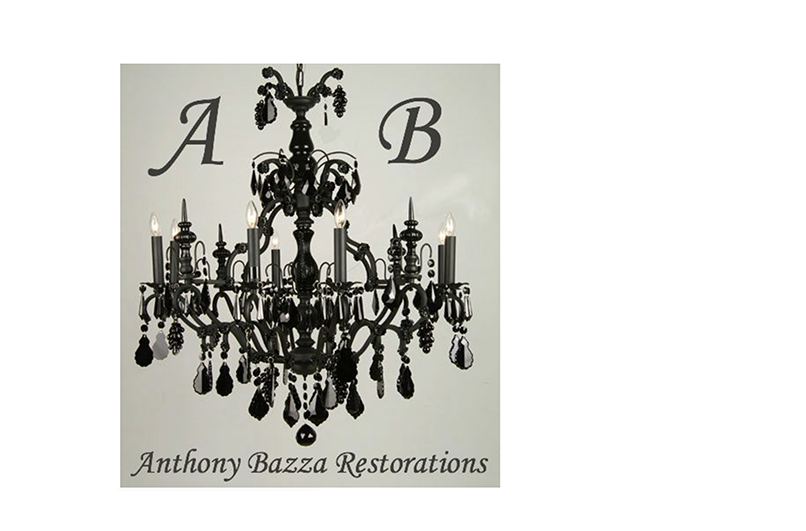 Anthony Bazza Restorations - Anthony Bazza Restorations, Inc. specializes in repairing, restoration and rewiring of chandeliers, table lamps, floor lamps, sconces, etc. from all periods, both antique and contemporary.