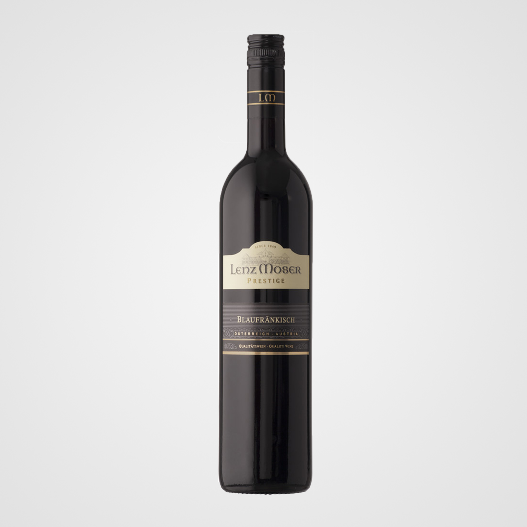Blauer Zweigelt Reserve - Quality wine, dry, Austria.Tasting Notes: fruity and velvety, cherry notes, smooth, full-bodied, harmonious13.0% abv.
