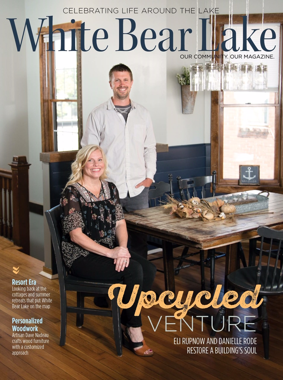 """Upcycled Furniture Store Upsy-Daisy Gets an Upcycled Building"" - September 2018 Issue"