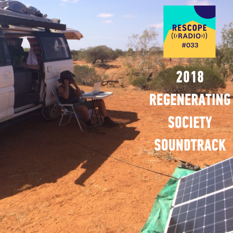 Anthony producing podcast #016 Grassroots Revolution, at Wooleen Station in Western Australia. Pic: Olivia Cheng.